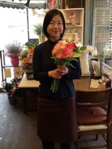 花の部屋代表:宮下真由美